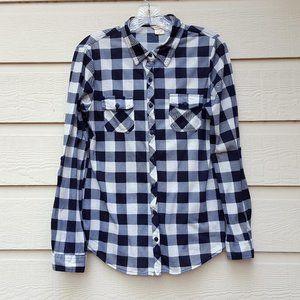 Women's Button Up Long Roll Tab Sleeves Shirt